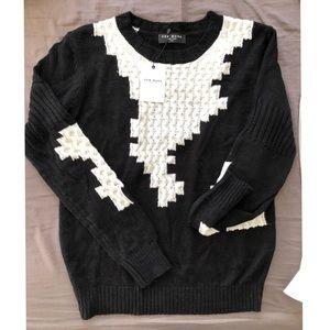 Few Moda black and white sweater